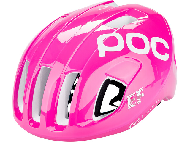 POC Ventral Spin Casco, fluorescent pink